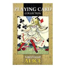 Alicia en el país de las maravillas jugando a las cartas diseñado por Jesús Blasco
