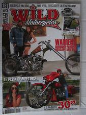 WILD MOTORCYCLES N° 151 / BAGGER '30/