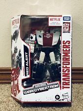 Transformers Netflix War For Cybertron Red Alert Exclusive New & In Stock