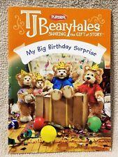 Playskool T.J. Bearytales MY BIG BIRTHDAY SURPRISE Book Replacement VGC