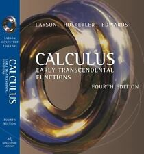 Calculus: Early Transcendental Functions - Fourth Edition