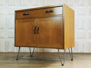 G PLAN Sierra Record Cabinet Sideboard - Hairpin Leg Mid Century *£60 DELIVERY*