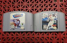Lot of 2 Nintendo 64 All-Star Baseball 99 and Wayne Gretzky's 3D Hockey 98