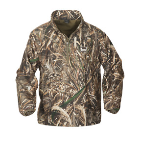 Banded Gear 1/4 Zip Pullover Jacket Windproof Coat MAX 5 Camo Water Resistant