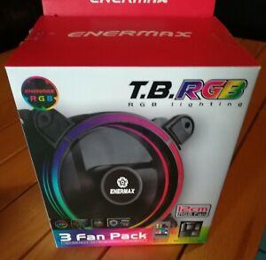 3 Ventole 120mm LED RGB Enermax T.B. UCTBRGB12-BP3 Confezione da 3