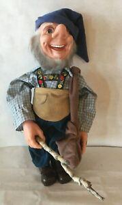 "VTG DORF Doll Grandpa Elf Made by ELVES Artists F. KATZENBERGER & W. FRANK 16"""