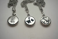 Essential Oil Aroma Pendant Necklace Jewelry Aromatherapy Diffuse Butterfly
