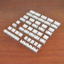 Paquete De Conector Kit - 2.5mm Batería de tipo JST XH Blanco Carcasas encabezados y Plegadores