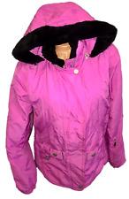 Ski Jacket Size L Women's Vintage Snow Coat Ski Bunny Neyelle hooded waterproof