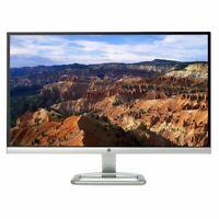 "HP 27"" Inch IPS LED Backlit Monitor VGA 2x HDMI Ports Silver"