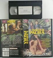 E tanta paura (VHS - Usato)