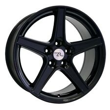 """18"""" Black Mustang Saleen Style wheels 18x9 Rims Ford Saleen 18 inch 94-04"""