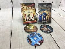 Night at the Museum 1 2 3 (DVD) Lot of 2