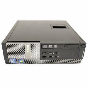 DELL 790 SFF, Dual Core 3.1GHz, 4GB RAM, DVD, 80GB, WINDOWS 7 PRO 32-BIT