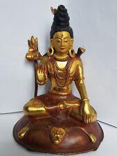 lord shiva brass handmade statue