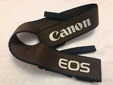 Genuine Canon Marrone/Nero Cinturino Di Tessuto fotocamera
