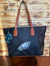 Philadelphia Eagles Dooney and Bourke Sport Tote Bag Purse & ID Tag Retail