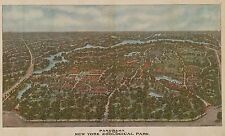 1913 BIRD'S EYE VIEW BRONX NEW YORK ZOO ZOOLOGICAL PARK  COPY POSTER MAP 24X36
