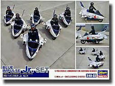HASEGAWA X48-22 Blue impulse Jr set (3 kits) scala 1/48