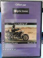 "Rare Optique 2000 DVD Johnny Hallyday  "" Le Making of "" Neuf Scellé - MINT"
