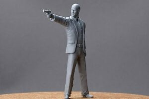 """Hobby Design 1/24 """"Fast & Furious"""" Characters (H) (1 Resin Figure)"""