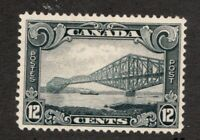 #156 - Canada - 1929 - 12 Cent stamp - MH - F/VF - superfleas