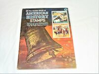 Vintage The Golden Book Of American History Stamps,1953
