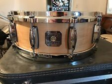 Beautiful 2000s Gretsch Natural Gloss Nitrocellulose Snare Drum