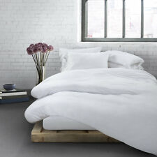 CALVIN KLEIN HOME Modern Cotton Body TWIN Duvet Cover White 68 x 86 in. NEW
