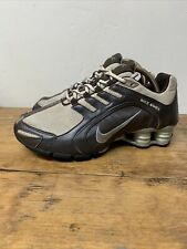 Nike Shox Navina Bone Brown Teal 313809-201 Running Shoes 2007 Womens sz 6.5 US
