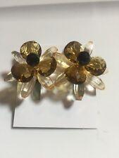 $98 Kate Spade Blooming Brilliant Statement  Earrings # 91 D