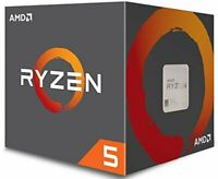 AMD RYZEN 5 1600 6-Core 3.2 GHz (3.6GHz Turbo) AM4 65W YD1600BBAEBOX w/ Cooler