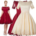Elegant Womens Prom Cocktail Formal Evening Dress Gown Party Bridesmaid Wedding