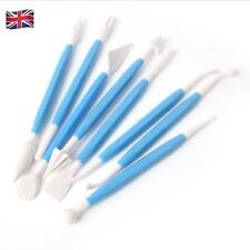 8 Piece Set 16 Pattern Cake Decorating Tools