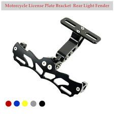 1×Motorcycle License Plate Bracket Rear Light Fender Eliminator Aluminum  Alloy