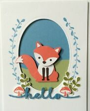 Stampin Up FOXY FRIENDS Photopolymer Stamp Set & Fox Builder Punch