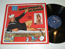 LP/DER KLEINE FREDY HEINDLER/IMMER ERWISCHT`S DIE KLEINEN/SEXY NUDE COVER/910503
