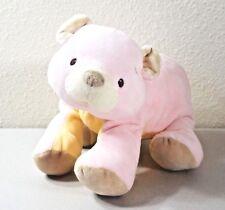"Baby Gund LITTLE TONES BEAR #58623 Soft Pink Plush Lovey 10"""