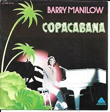 "45 TOURS / 7"" SINGLE--BARRY MANILOW--COPACABANA / A LINDA SONG--1978"