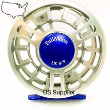 SUPER SALE!!  FMO Fly Reel DE 8/9wt CNC Machined Large Arbor Fly Reel Disc Drag
