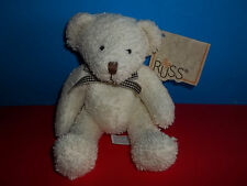 Russ Luv Pet TUMBLES Teddy Bear Plush Terry Bean Bag Plush with Tag