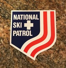 National Ski Patrol Sticker - Skiing Snowboarding Sports Burton Rossignol