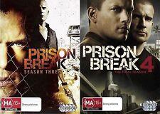 PRISON BREAK Seasons 3 - 4 : NEW DVD