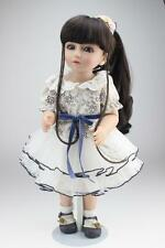 New 45CM Handmade Real Dolls Newborn Baby Vinyl Silicone Realistic Reborn Dolls