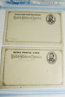US stamps Postal Card and Reply Early Collection