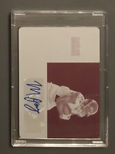 2017 Panini Contenders 1/1 Auto Matthew Dayes Rookie RC Printing Plate 49ers