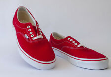 Vans Off The Wall Era 59 MLX Unisex Casual Lace Up Canvas Trainers Red White 88792053d1b