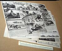 Tanks.Land Battleships of the French Army in 1940 Vintage Modern Wonders Mag