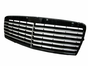 W210 1995-1999 Pre-Facelif GRILLE/GRILL INNER 11MD CH/BLACK Mercedes-Benz