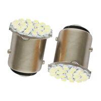 1X(12V 1157 22 ampoules LED SMD pour feu de frein de voiture Feu de stop Lumi f5